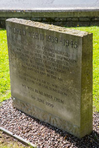 WW2 Memorial à Dorchester, Royaume-Uni - Photo