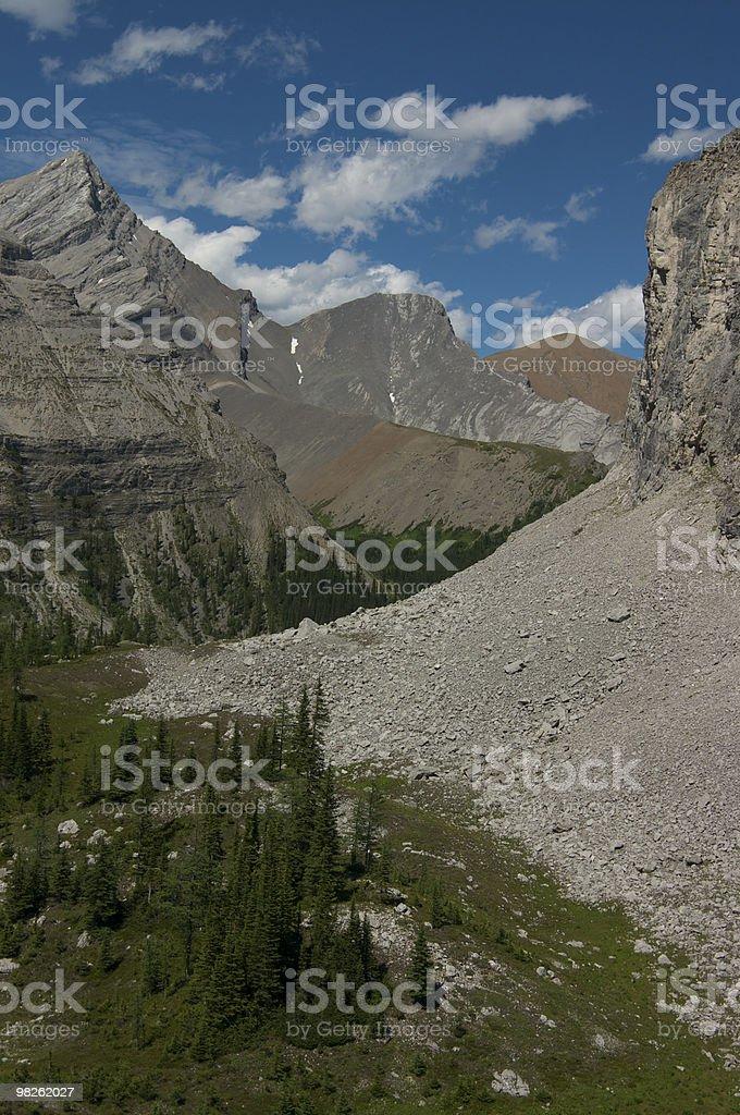 Memorial Lakes Hike royalty-free stock photo