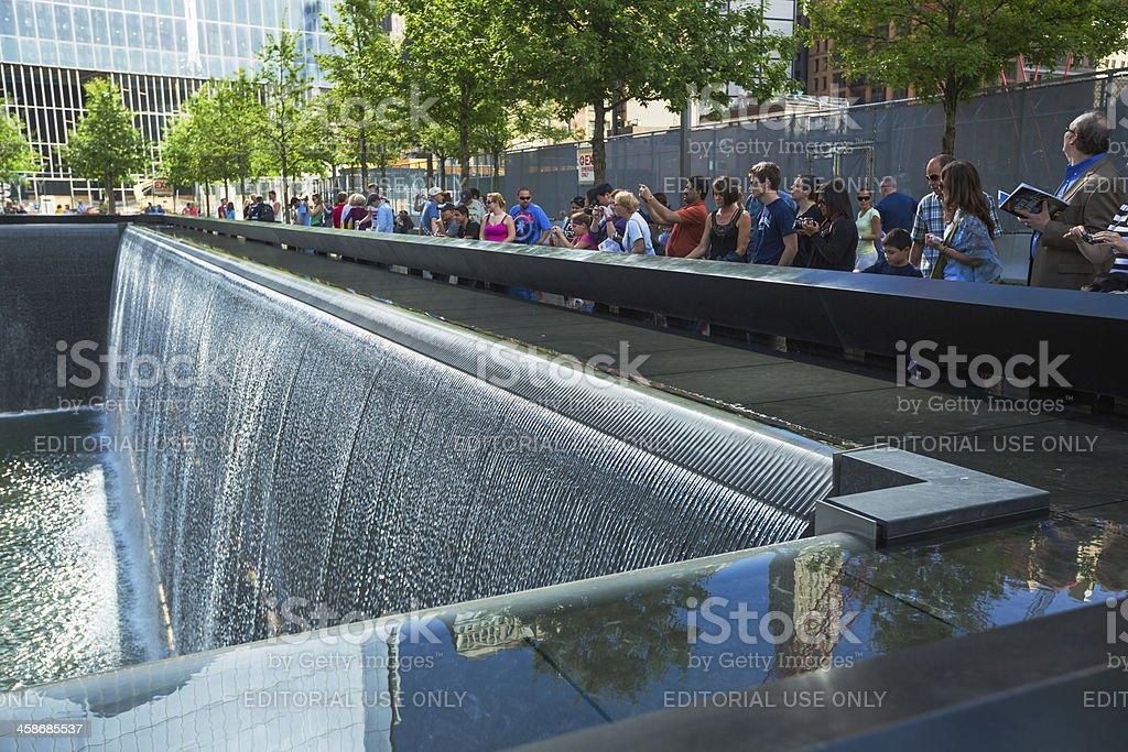 9/11 Memorial, New York City, Manhattan, USA stock photo