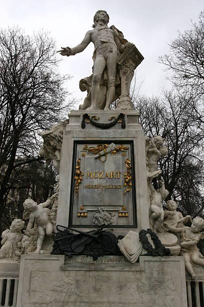 Memorial of Wolfgang Amadeus Mozart in Vienna, Austria – Foto