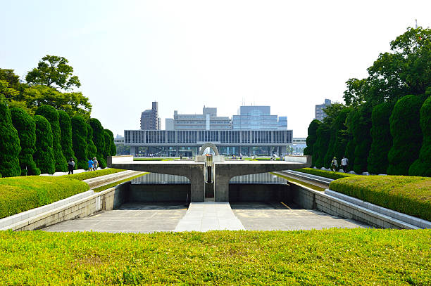 memorial park i hall, hiroshima - hiroshima zdjęcia i obrazy z banku zdjęć