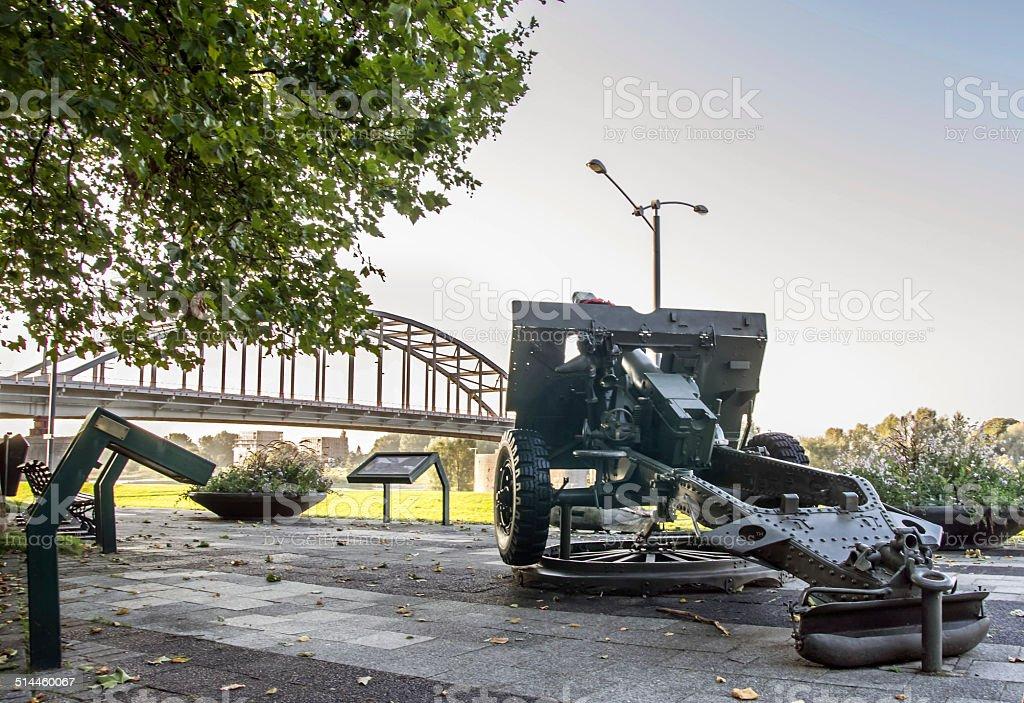 Memorial Place of the Battle of Arnhem. foto