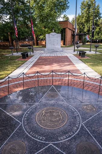 Memorials At The Williamson County Museum Stock Photo - Download Image Now