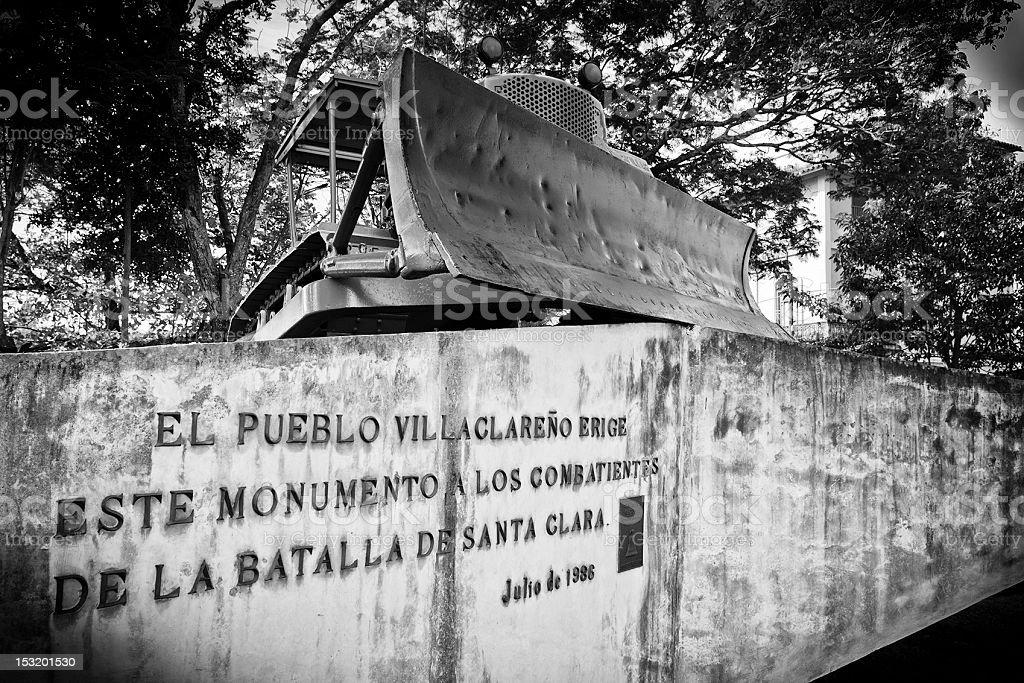 Memories of Revolution, Santa Clara, Cuba - B&W royalty-free stock photo