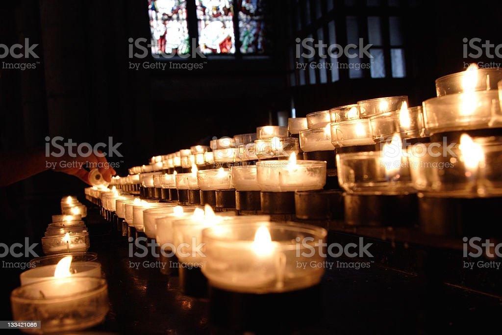 Memory and Prayer royalty-free stock photo