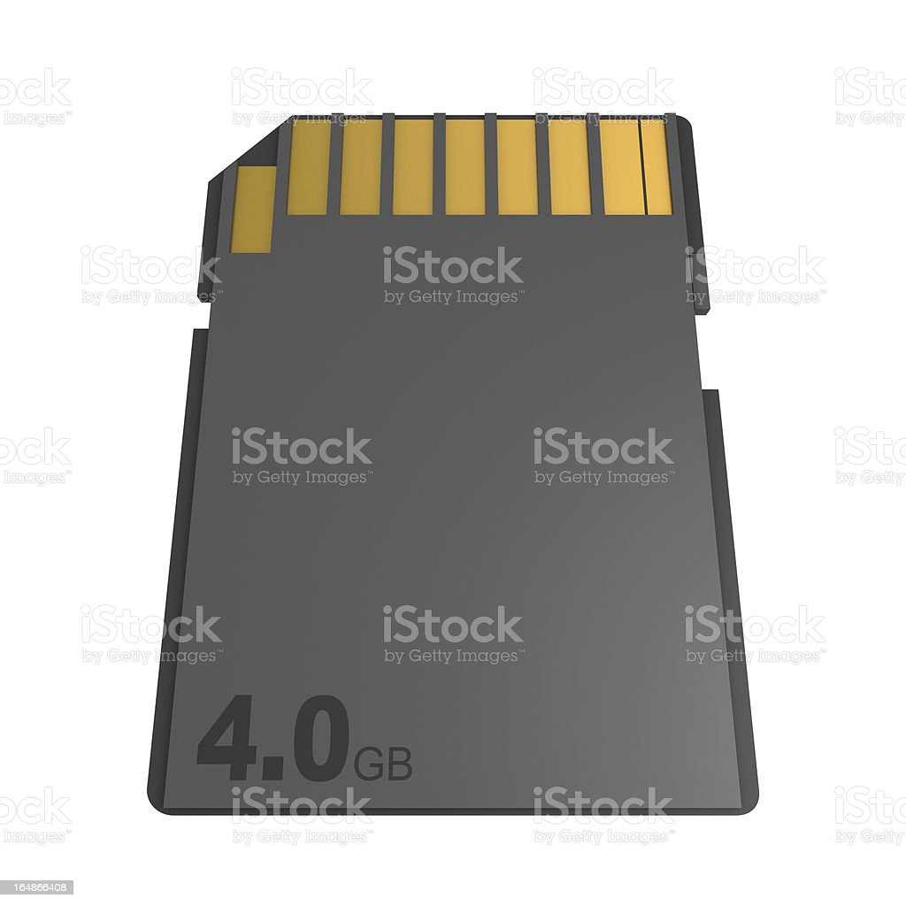 Memory Card royalty-free stock photo