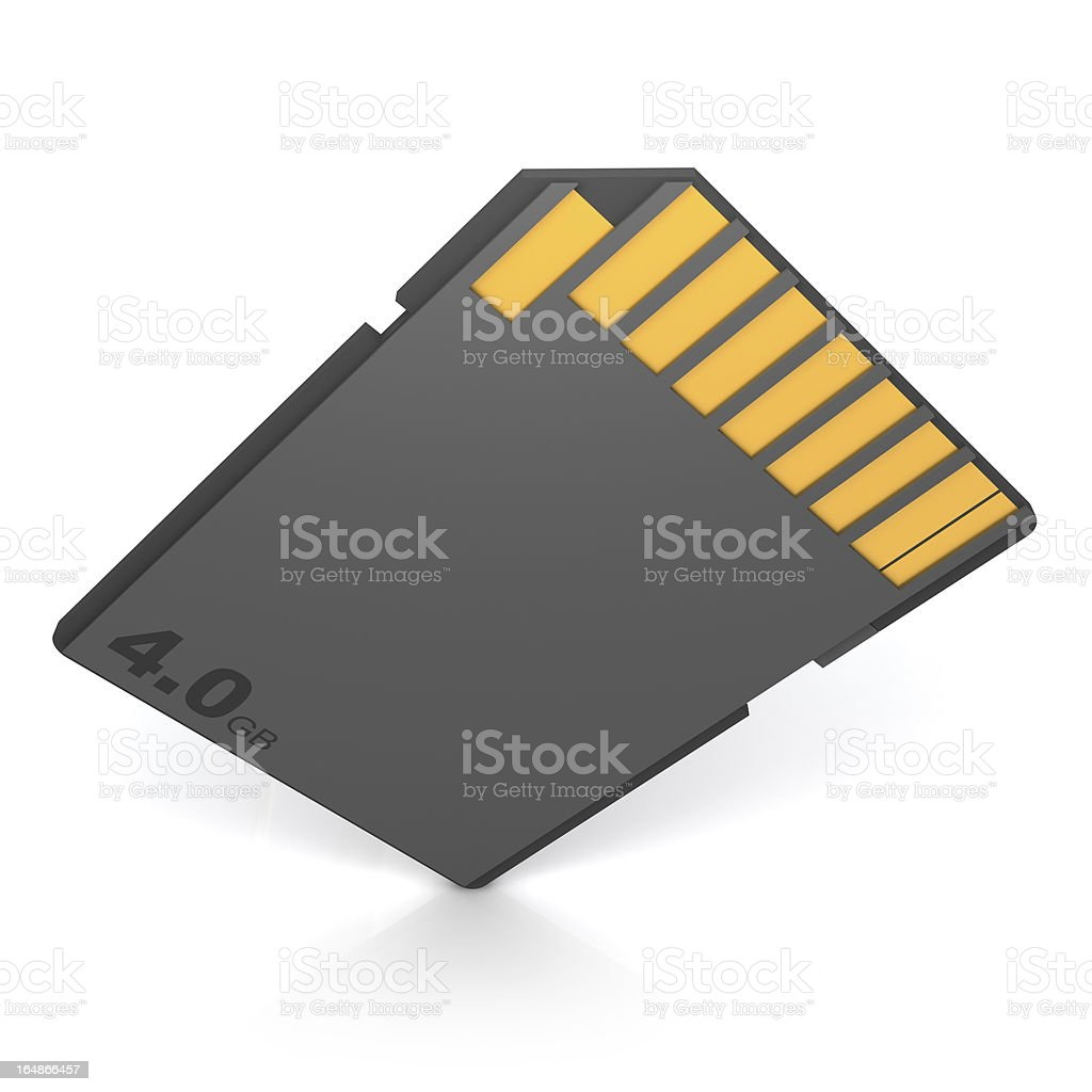 Memory Card royalty-free stock photo