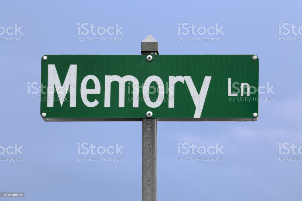 Memory Lane stock photo