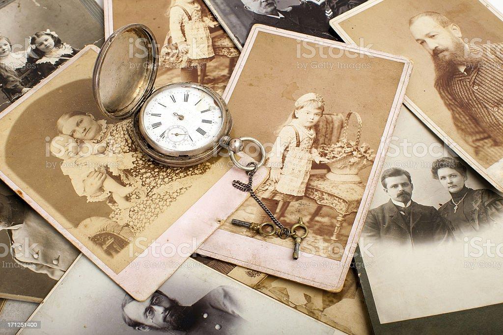 Memory of ancestors. royalty-free stock photo
