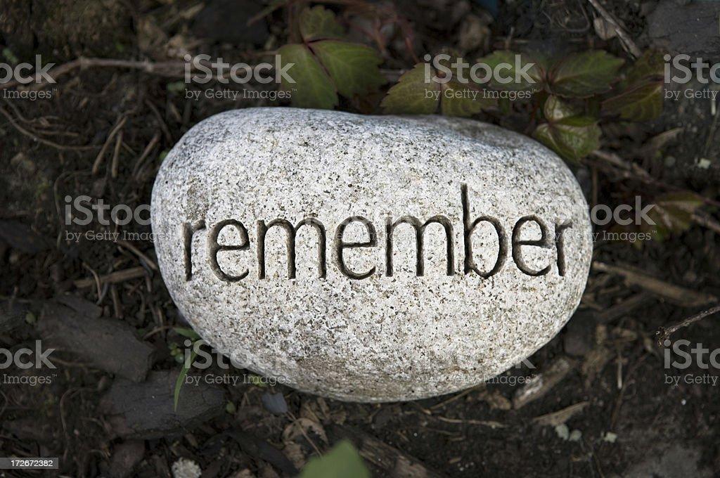 memory - Lizenzfrei Abschied Stock-Foto