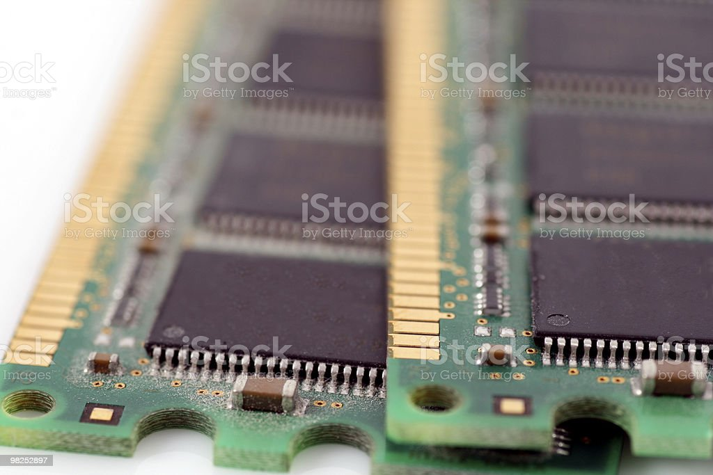 RAM 메모리 royalty-free 스톡 사진