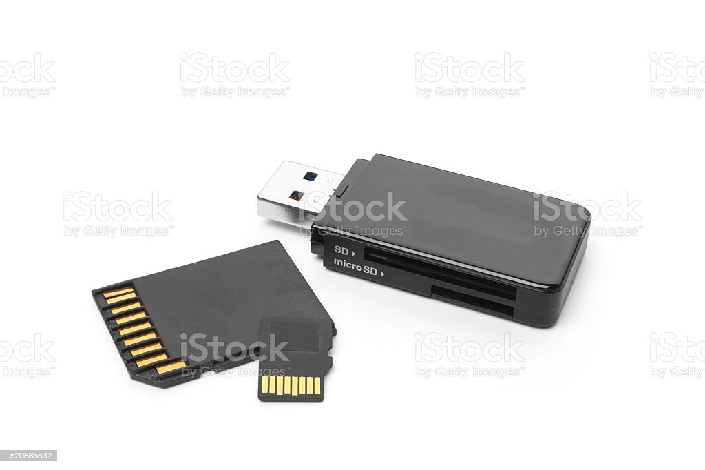 memory stick stock photo
