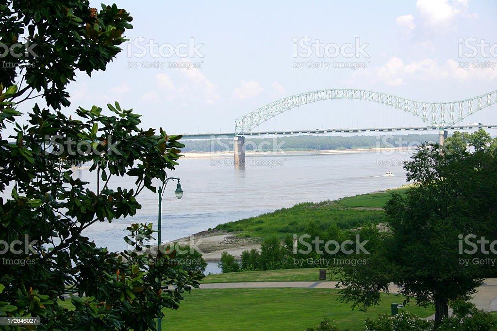 Memphis Bridge Horizontal royalty-free stock photo