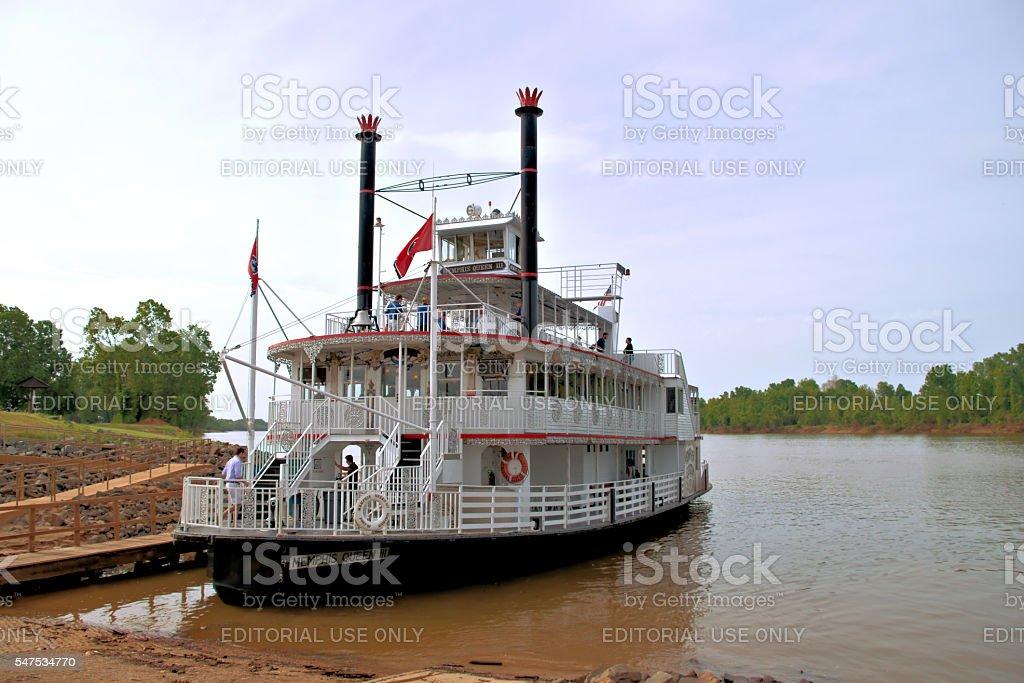 Memphis Queen III stock photo