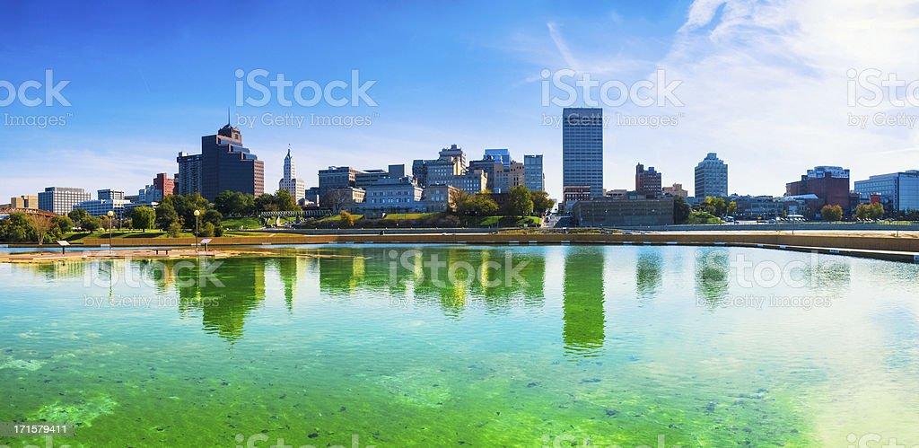 Memphis Skyline, Panoramic View royalty-free stock photo