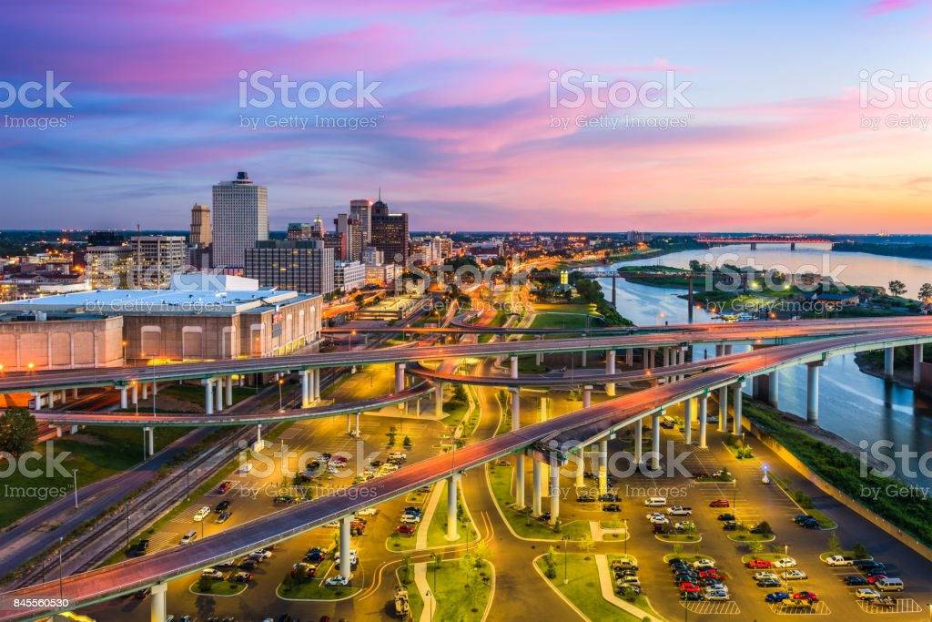 Memphis Tennessee USA stock photo
