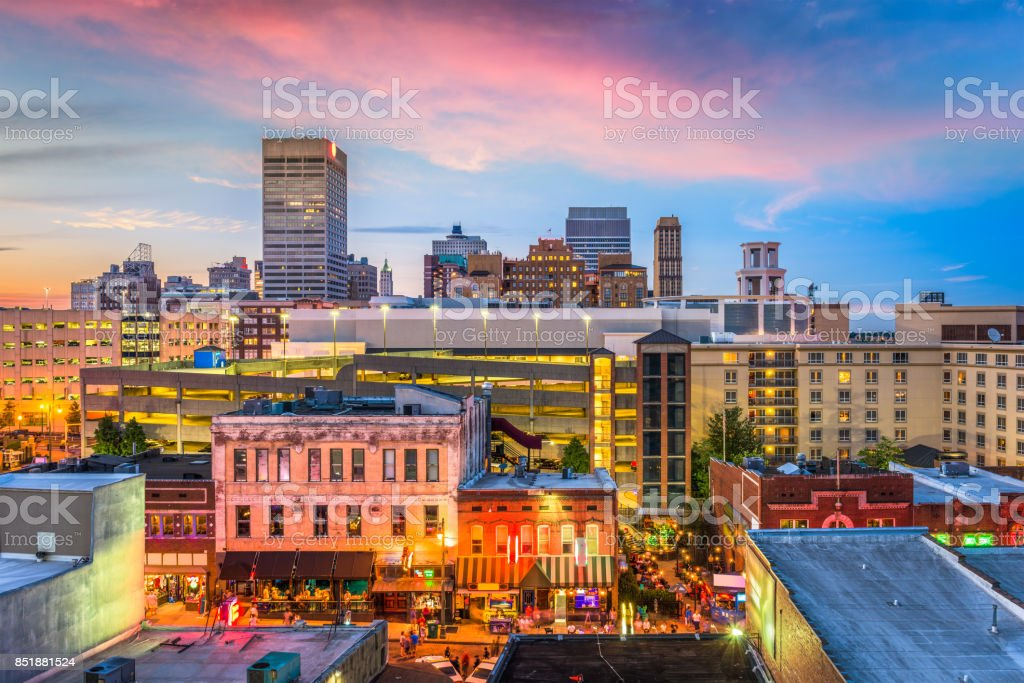 Memphis, Tennessee, USA stock photo