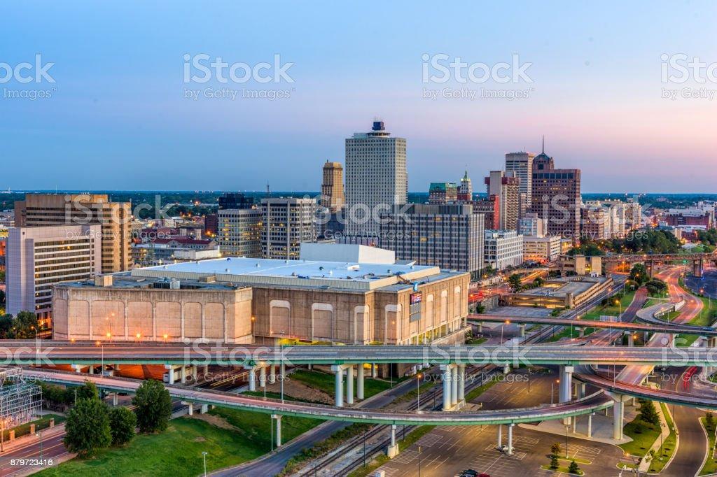 Memphis, Tennessee, USA stock photo