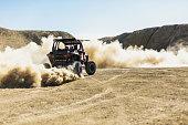 istock Men and Boys Outdoor Activities Off-road Fun in Western Colorado Desert 1214400089