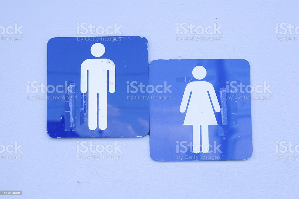 Men and Women royalty-free stock photo