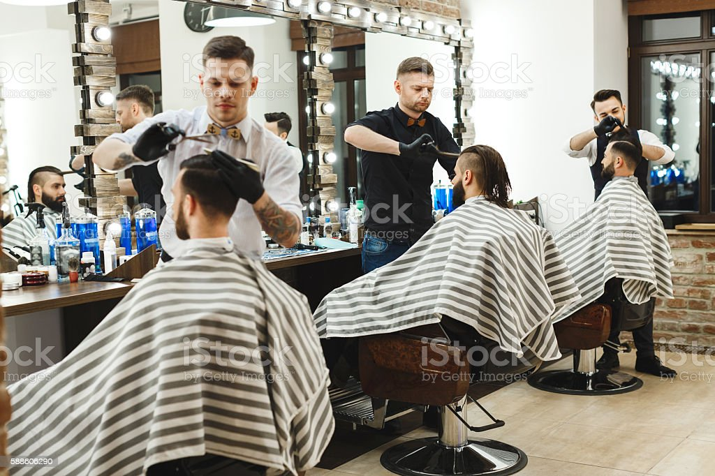 Barber Shop Haircuts Pictures 101