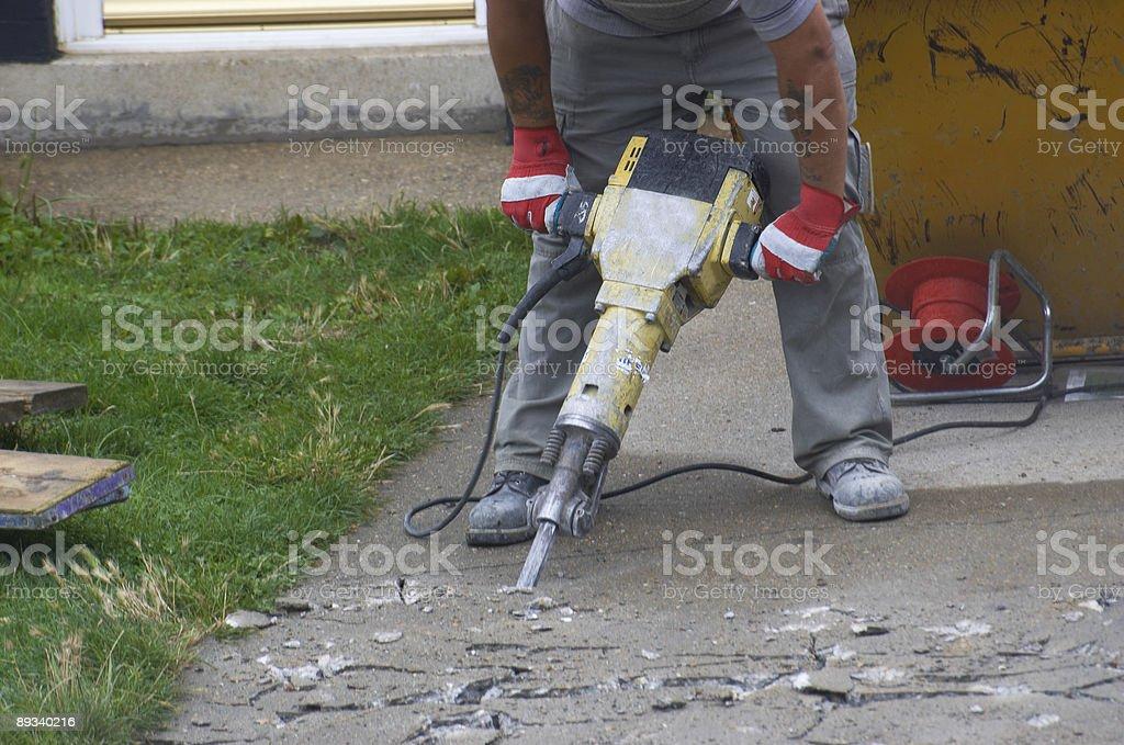 men at work royalty-free stock photo