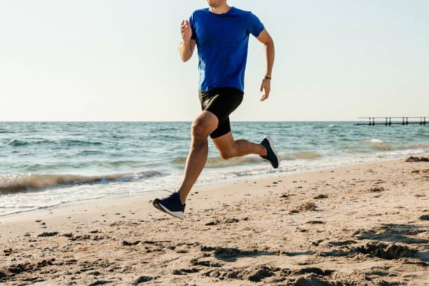 hombres atleta Runner - foto de stock
