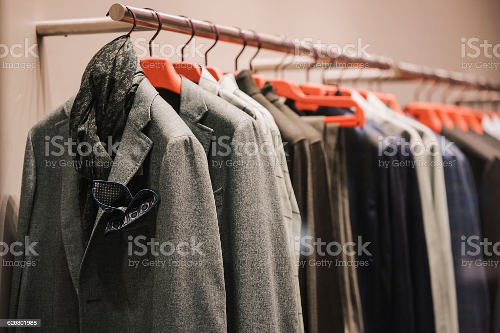 Men clothing stock photo
