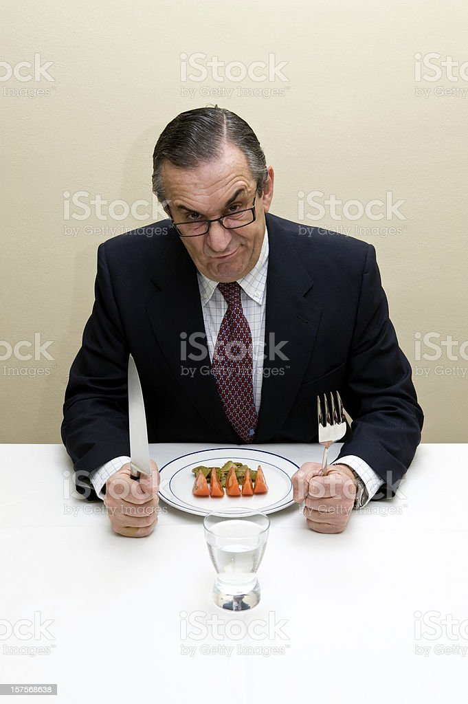 Men dieting royalty-free stock photo