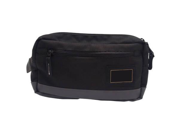 men fashion waist bag - waist bag stock photos and pictures
