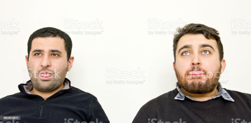 Männer-Gesten Lizenzfreies stock-foto