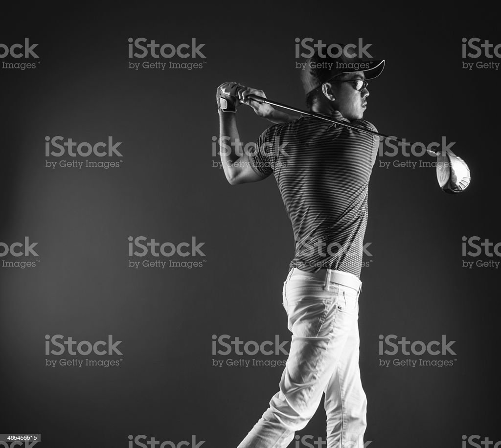 Men Golfer stock photo