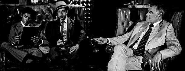 Men In A Bar  gangster stock pictures, royalty-free photos & images