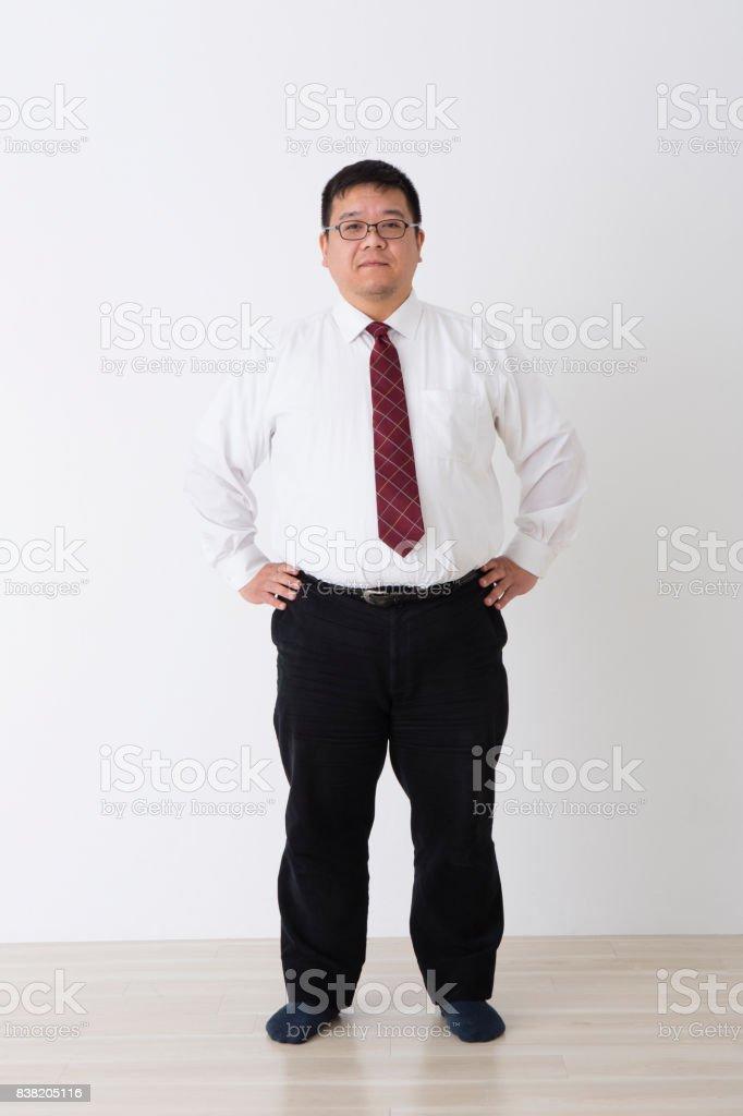 Men in suits stock photo