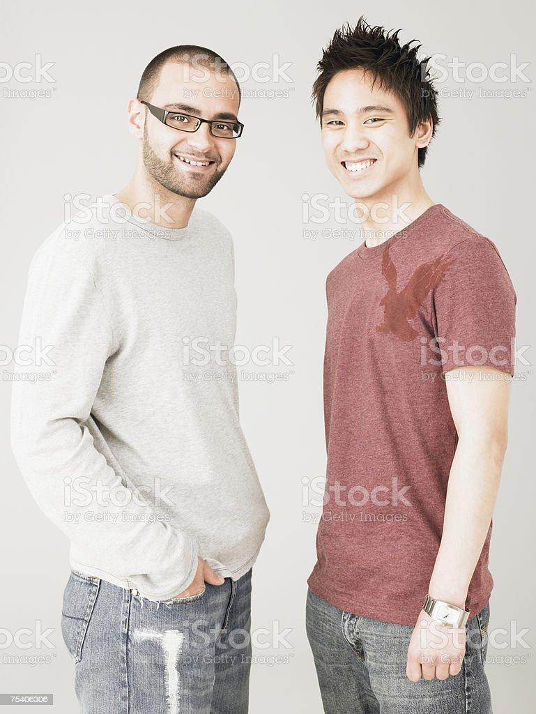 Men laughing foto de stock royalty-free