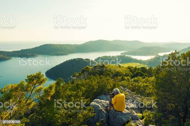 Photo of Men photographing Island Mljet