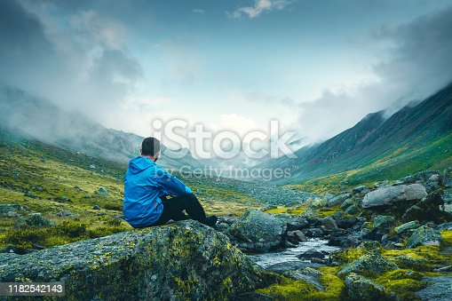 Mountain, Man, Water, Motivation, Hiking