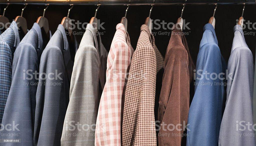 Men suits stock photo