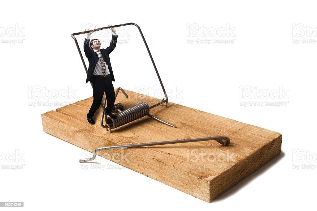 Men Trap royalty-free stock photo