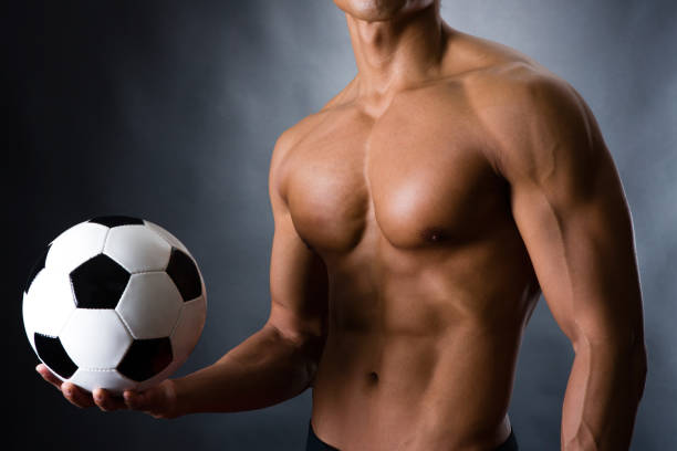 Naked Soccer Men Stock Photos, Pictures & Royalty-Free