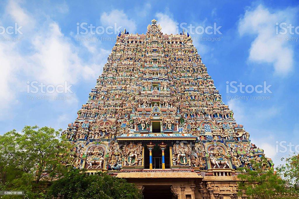Menakshi Temple, India stock photo