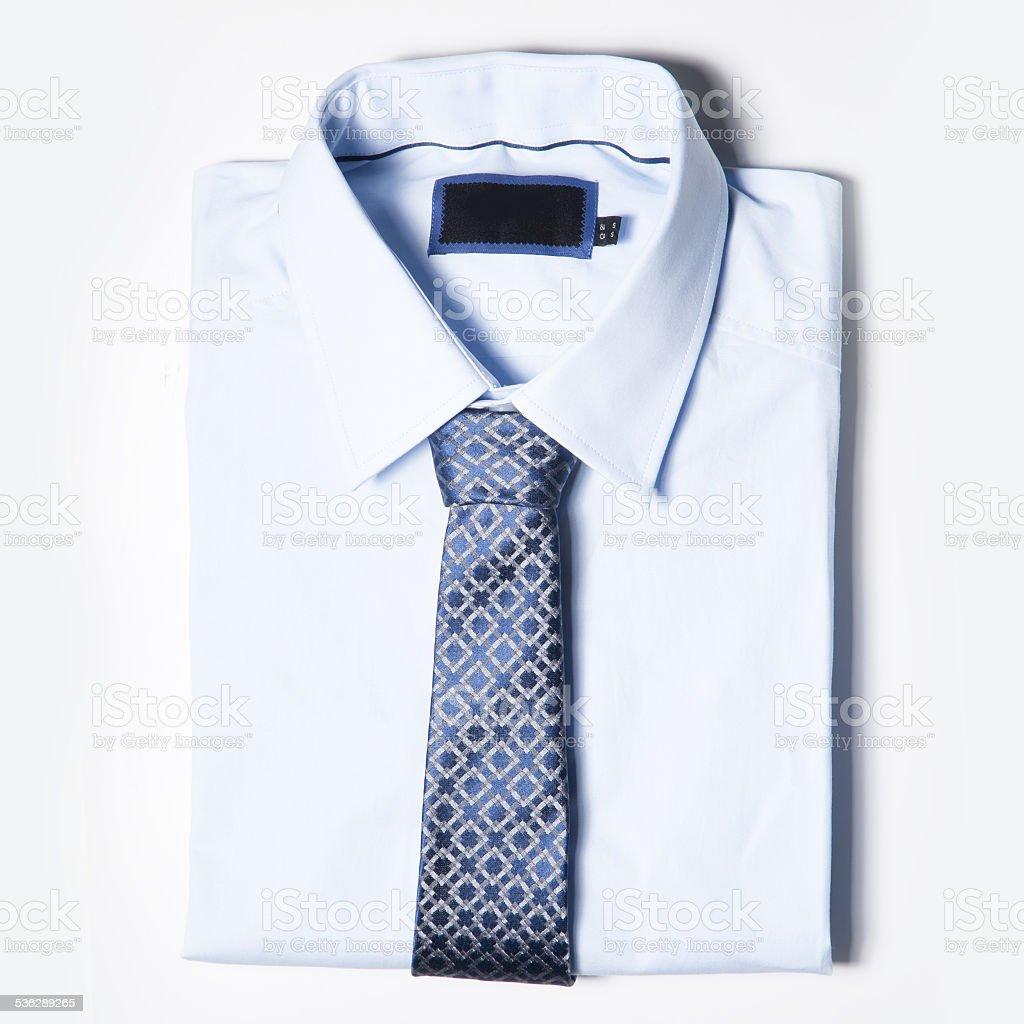 Men's clothing is on white background stock photo