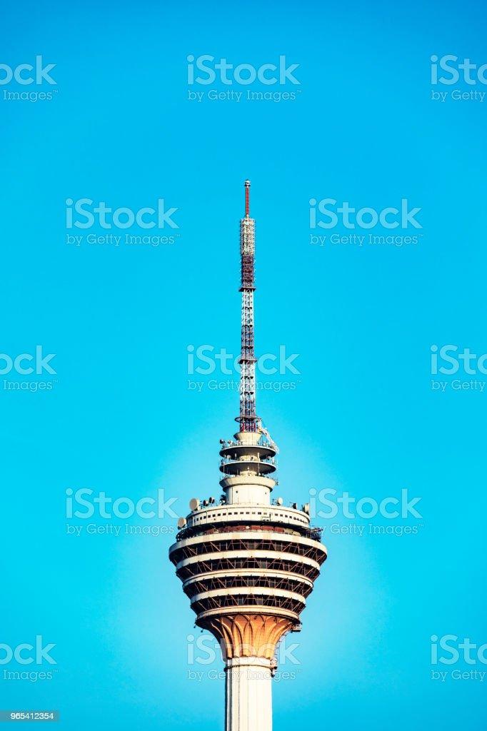 Menara Kuala Lumpur Tower zbiór zdjęć royalty-free