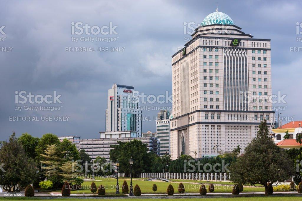 Menara Tabung Haji in Johor Bahru, Malaysia stock photo