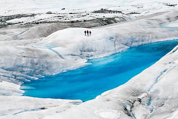 Mendenhall-Gletscher bei Juneau, Alaska – Foto
