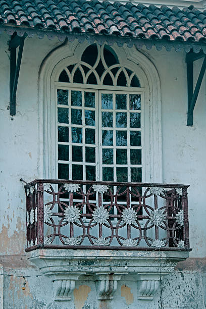 menezes braganza house, chandor, goa, india - deign stock pictures, royalty-free photos & images