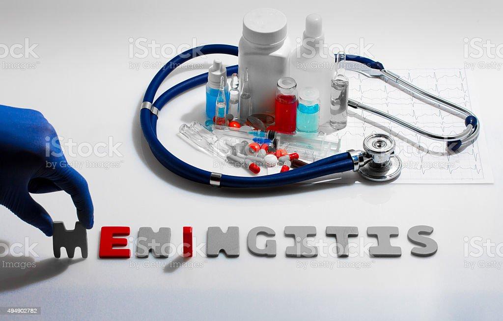 Meningitis stock photo
