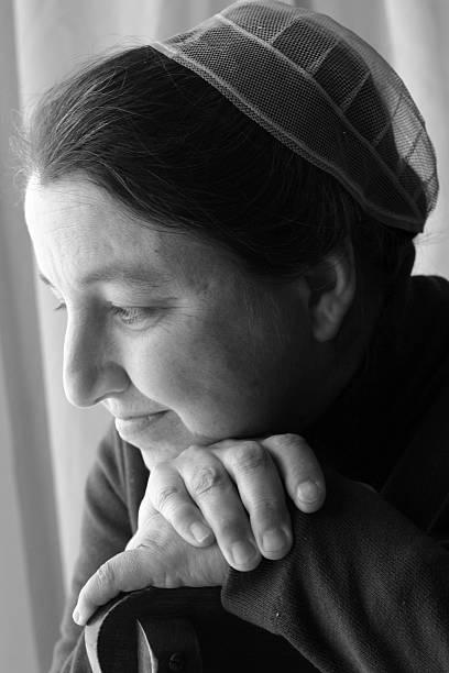 Mennonite Portrait de femme - Photo