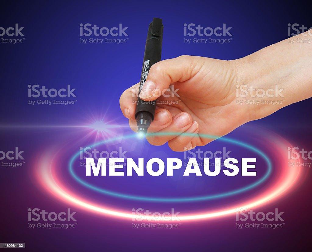 Menopause stock photo