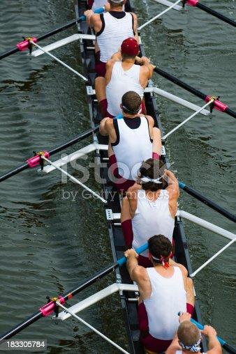 542823854 istock photo Men's 8-Man Rowing 183305784